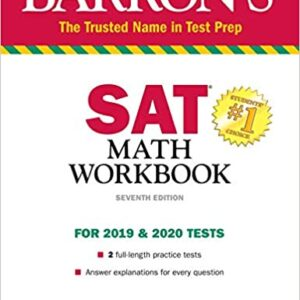 Barron's Math Workbook for the NEW SAT, 7th Edition (for 2019 & 2020 Tests)