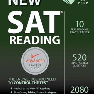 New SAT Reading Workbook (Advanced Practice Series – ies Prep)
